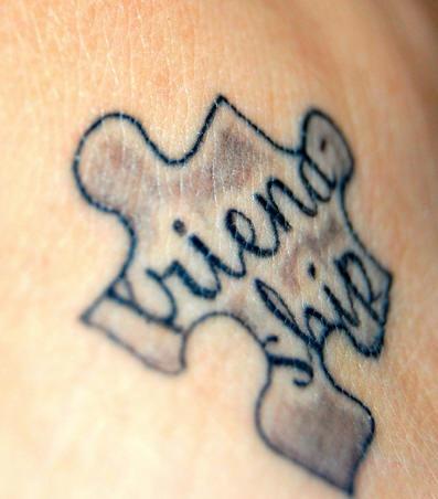 Symbols Of Friendship Tattoos